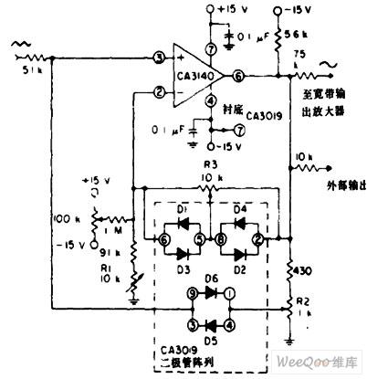 正弦波整形器电路图