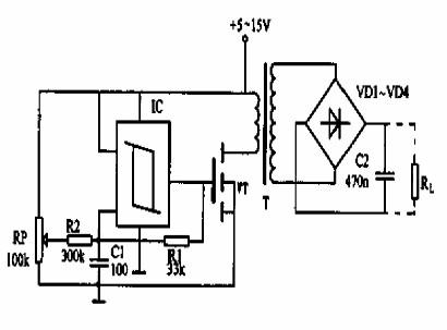 小功率电源变换器电路