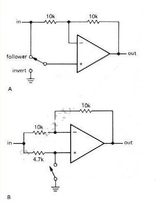 两种翻转逆变器电路图