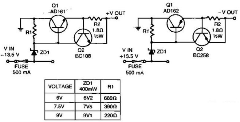 【图】一款低电压短路保护电路图电源电路