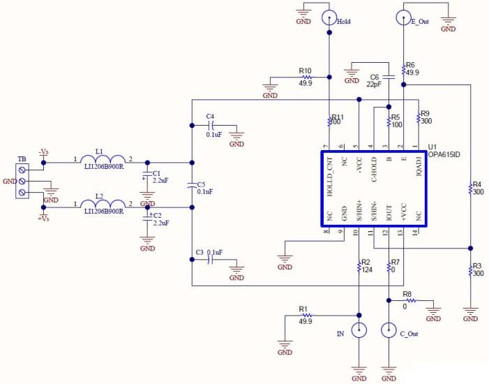 多功能高精度的采样保持电路图
