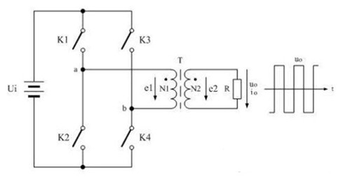 全桥式变压器开关电源电路图