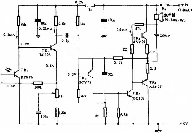 光通信接收电路图