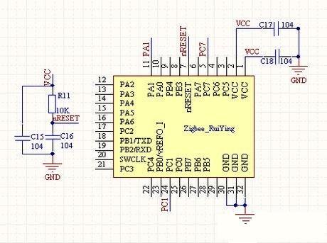 人员定位系统控制模块电路设计
