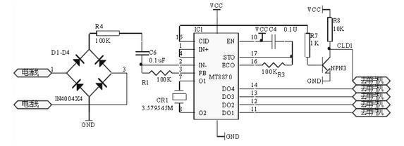 双音频解码电子电路