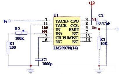 温度控制接口电路