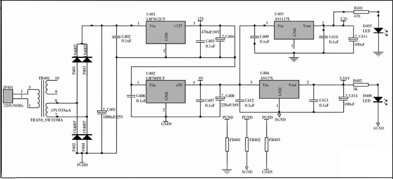 基于单片机的温室智能控制器硬件电路设计
