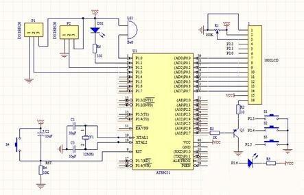 基于单片机的智能加湿器系统电路设计