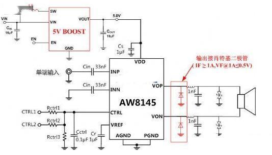 智能机大音量电路应用设计对比剖析