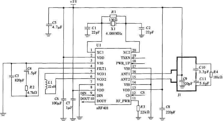 采用TC35I无线数据传输与GSM通信模块电路设计