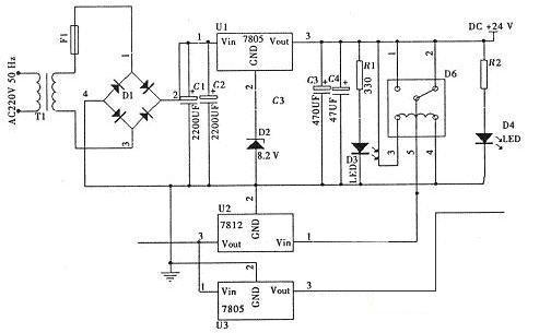 经典无线充电器电路模块设计电路