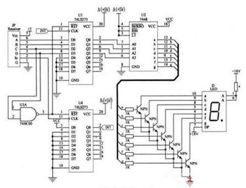 简单的遥控抢答器电路图