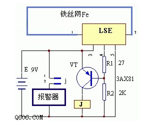 低压断线报警器的电路图