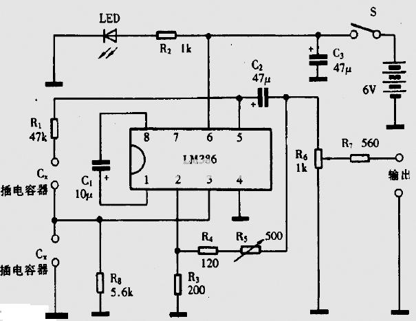 【图】lm386低电压音频功率放大器电路图传感器电路