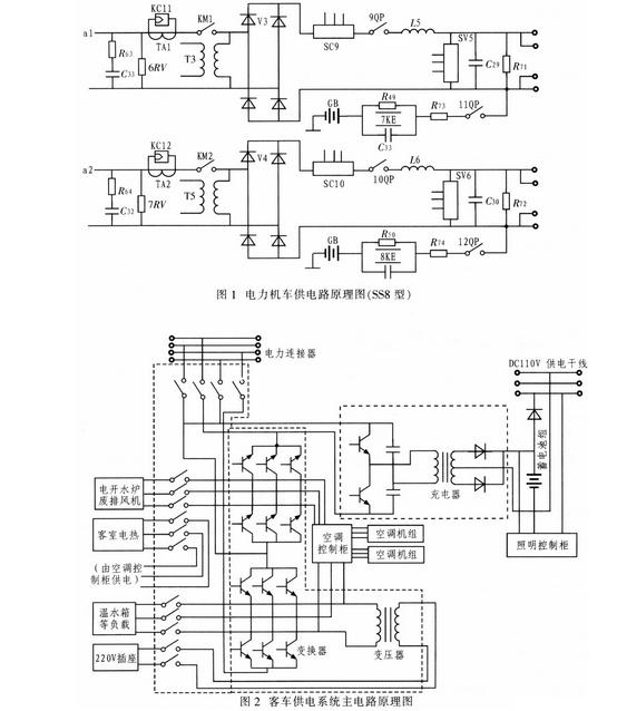 机车速度探测机构输出的脉冲信号电路图