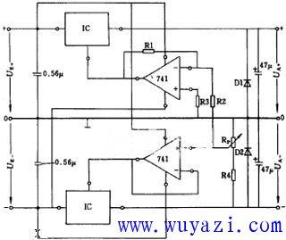 可带感性负载的300W逆变电源电路图