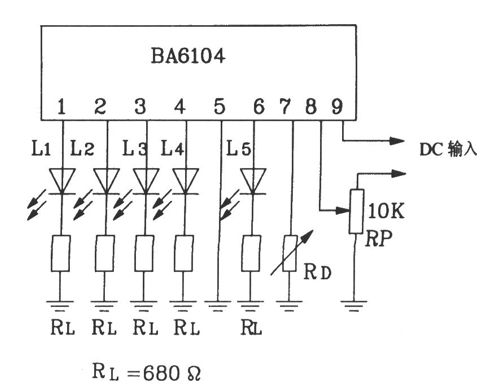 LED电平表驱动集成电路