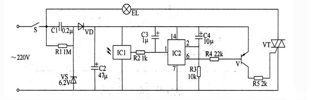 【图】红外遥控开关电路原理图开关电路