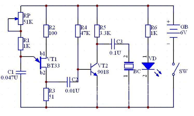 【图】电子驱蚊器电路原理图555-日用电子