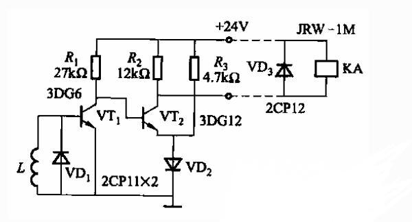 基于晶体管的计数电路图