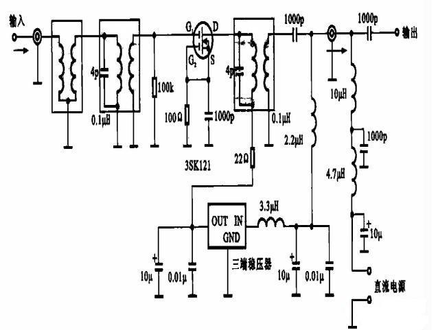 宽频带高频信号放大器