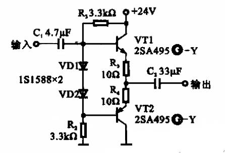 高输入阻抗缓冲放大器