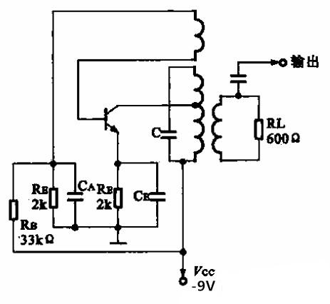 455kHz 载波振荡电路图