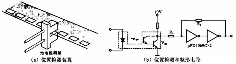 光电位置检测的装置电路