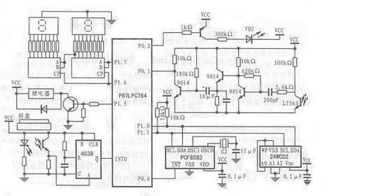 电表费率系统电子电路设计