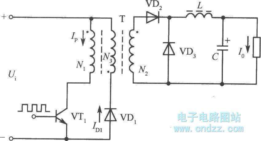 【图】单端正激变换器式转换电路开关稳压电源