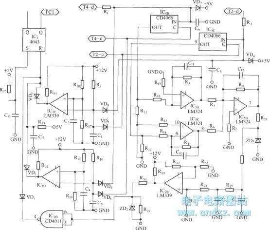 igbt短路保护电路原理图