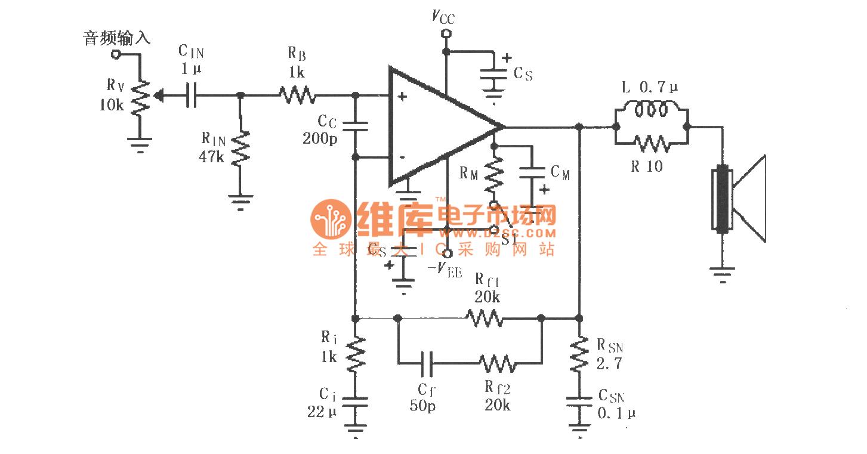 【图】lm4780的辅助音频功率放大电路集成音频放大