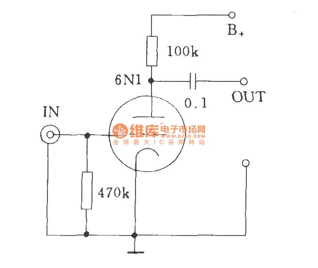电子管输入电压放大器的输入方式图片
