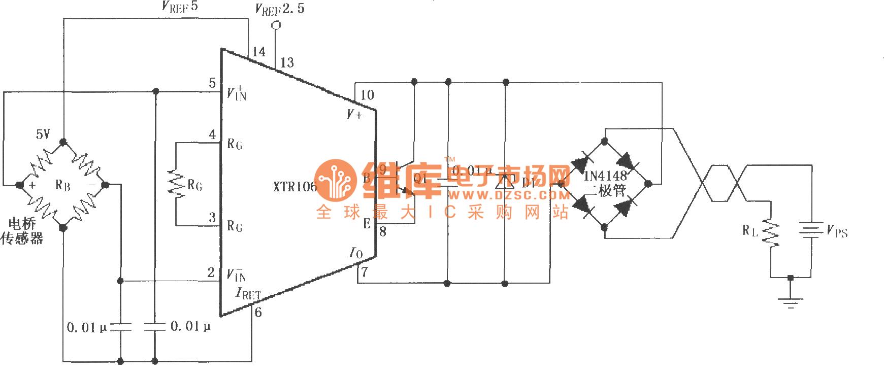 【图】反向电压和浪涌过电压保护电路(xtr106)电流环