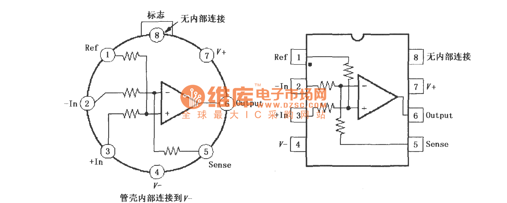 【图】ina105精密增益差分放大器仪表放大器