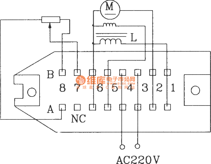 电原理图及外部接线