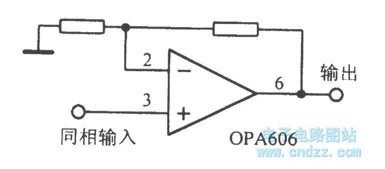 运算放大电路opa606