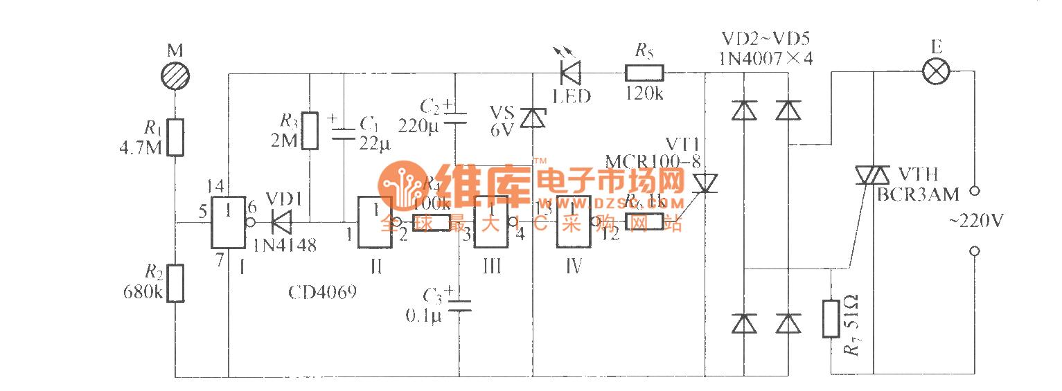 室内电路布线图 国标