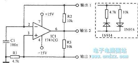 【图】自由振荡电路多谐振荡产生