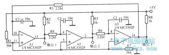 【图】17hz三相方波振荡电路函数信号产生器