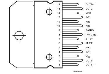 isuzu n series wiring diagram selling tda7296n tda7296s tda7297 with tda7296n p n junction circuit diagram #13