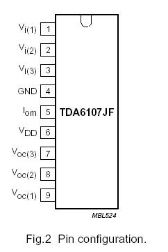 tda6107jf datasheet pdf