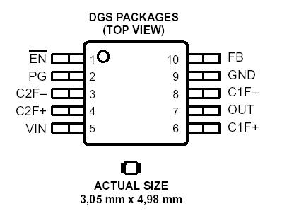 Application and implementation SLVS6074845 further Specifications together with Application and implementation moreover TPS6047A4 TPS60500 TPS60500DGSG4 further TPS611F. on tps datasheet
