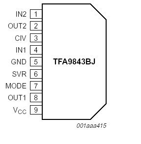 TFA9843 TFA9843AJ N1112 TFA9843BJ as well Pz695a6f5 Cz5a8487c 7w 7w Dual Bridge  lifier Integrated Circuit Chip Tda7266sa together with Power  lifier Circuit Diagram additionally Power Supply also Led Driver Wiring Diagrams. on dual pc power supply diagram