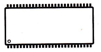 MT48LC16M4A2P-75引脚图