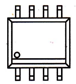 AD8052AR引脚图