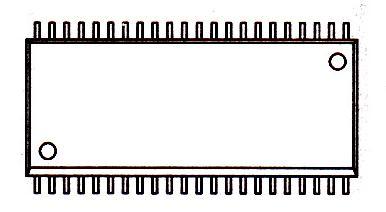 MX23C6410MC-10引脚图