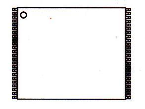 MX23L6410TC-12引脚图