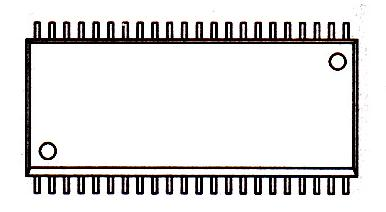 MX23L6411MC-10引脚图