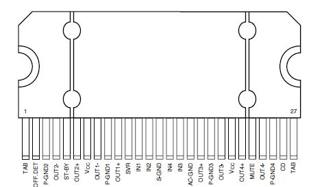 tda7388 ic diagram online schematics wiring diagrams u2022 rh pushbots sender com
